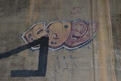 SEC (TheGraffitiHunters) Tags: graffiti graff spray paint street art colorful nj new jersey trackside wall sec
