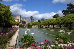"""Córdoba, Alcázar de los Reyes Cristianos (""""Palast der christlichen Könige"""", 14. Jhdt.))"""