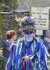 Easter Dancer (ORIONSM) Tags: dance easter pagen festival celebration england morthoe portrait olympus omdem1 olympus14150mm