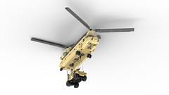 CH-47F 16 (DarthDesigner) Tags: ldd moc builds instructions bricks brick mocs legodigitaldesigner starwars oninemesis thedarthdesigner tdd military lego digitaldesigner darth ch47chinook ch47 chinook