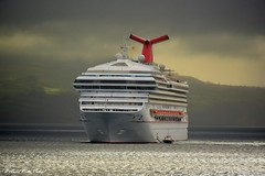 Carnival Sunrise (Andre Velho Cabral) Tags: cruise azores