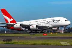 VH-OQC QF A380 34L YSSY-8717 (A u s s i e P o m m) Tags: sydney newsouthwales australia qantas qf qfa airbus a380 syd yssy sydneyairport