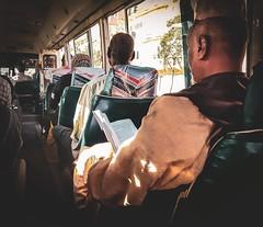 Bus Education (Yaman Y) Tags: student studying amazing yamany books yaman dryaman55 summer khartoum sudan winter bus man street streets