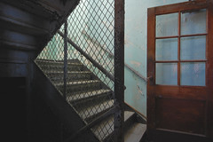Shapes (jgurbisz) Tags: jgurbisz vacantnewjerseycom abandoned ma massachusetts westboroughstatehospital asylum westborough stairwell shapes