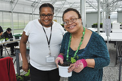 Woodlawn Seniors visit center for Maryland Agricultural Center