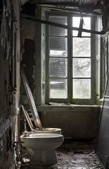 Porcelain Manor (Baldran) Tags: abandoned vacant decay derelict ruin mansion bidet toilet
