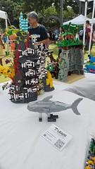 """11 (""""Big Daddy"""" Nelson) Tags: leahi hawaii waikiki aquarium fish lego event afol"""