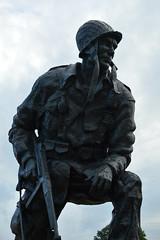 Iron Mike (radargeek) Tags: northcarolina fayetteville nc 2018 august statue art soldier ironmike
