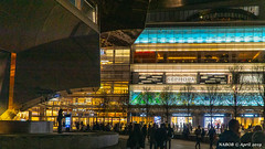 Manhattan, NY: The high-end retail mall at Hudson Yards (nabobswims) Tags: hudsonyards ilce6000 lightroom luminositymasks mall manhattan mirrorless ny nabob nabobswims newyork night nightfoto photoshop sel18105g sonya6000 us unitedstates