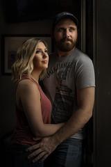 Emily and Vince_041119 (TNrick) Tags: couple portrait windowlight lowkey stella1000 nashville tennessee ajsgoodtimebar