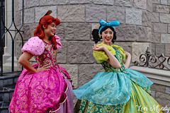 Anastasia and Drizella (disneylori) Tags: anastasia drizella cinderella stepsisters disneyvillains villains disneycharacters facecharacters meetandgreetcharacters characters fantasyland magickingdom waltdisneyworld disneyworld wdw disney