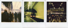 The Daily Commute (Ray Liu Photography) Tags: travel london roidweek polaroidweek commute tube trains polaroid instant film