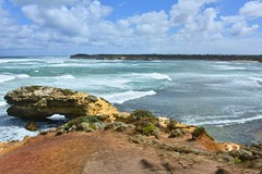800_4559 (Lox Pix) Tags: twelveapostles australia victoria loxpix loxwerx landscape scenery seas seascape ocean greatoceanroad cliff clouds waves helicopter heritage