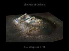 The Face of Cydonia - From Mex (TerraForm Mars) Tags: mars esa marsexpress nasa martian face cydonia