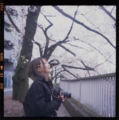 Sena (seeaurora) Tags: film portrait フィルム マシュマロ撮影会 ローライフレックス プロビア フジフイルム モデル