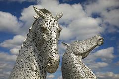 The Kelpies (Matt Champlin) Tags: kelpies thekelpies art horse horses scotland travel life nature sculpture sculptures canon 2019 canal towering amazing incredible
