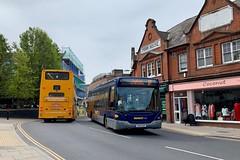 Konectbus 457 AU61 AVK – 5B – 11:50 Norwich to Stalham (Jṏs) Tags: au61avk konectbus scaniaomnilink