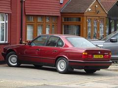 1991 BMW 525i SE Auto (Neil's classics) Tags: vehicle 1991 bmw 525i se e34 2494cc car