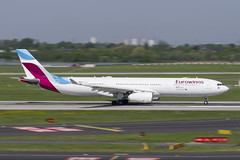OO-SFK Airbus A330-343 (Disktoaster) Tags: dus düsseldorf airport flugzeug aircraft palnespotting aviation plane spotting spotter airplane pentaxk1