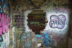 Graffiti  building (Lincs camera man) Tags: graffiti art building lincoln lincolnshire canon canon700d abandoned