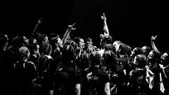 dance goals. (ZpectraLs) Tags: d3300 35mm black white bw nikon dance street alcudia mallorca auditori baile