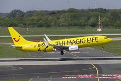 D-ATUG Boeing 737-8K5 (TUI Magic Life Livery) (Disktoaster) Tags: dus düsseldorf airport flugzeug aircraft palnespotting aviation plane spotting spotter airplane pentaxk1