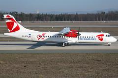 CSA Czech Airlines ATR-72-212A OK-GFQ (wapo84) Tags: eddf fra atr csa czechairlines okgfq