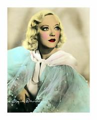 V_2691 (C&C52) Tags: portrait vintageshot star actrice cinéma collector
