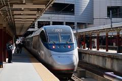 Acela Express (Jean (tarkastad)) Tags: unitedstates tarkastad station gare tgv tåg train railway