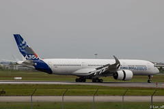 A350-900 Airbus - msn 001 (Luc_slf) Tags: airbus aviation avion toulouse toulouseairport blagnac aéronautique aeronaitics flighttest test a350 a350900 msn001