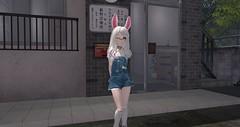 Tuesday (Bunny doll) Tags: second life secondlife sl slanime cute kawaii bunny girl secondlifephotography ahs2 asr philo sophia