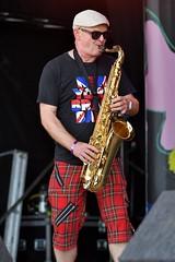 186-20180602_14th Wychwood Music Festival-Cheltenham-Gloucestershire-Main Stage-New York Brass Band-saxophone (Nick Kaye) Tags: wychwood music festival cheltenham gloucestershire england