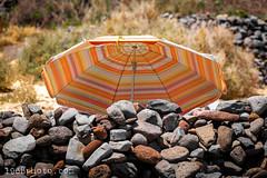 Hideout (1968photo) Tags: fuerteventura canaryislands kanarieöarna travelphotography 1968photo island 2019 hideout umbrella rocks stones