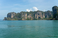 Krabi revisited (sydbad) Tags: thailand krabi revisited sea beautiful sand water resort boat rock formation lime sky clear clean speedboat sony ilce7m2 fe 2470mm f4 za oss a7mk2