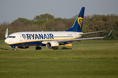 EI-DAC // Ryanair // B737-8AS // Stansted (SimonNicholls27) Tags: ryanair stn stansted egss b7378as 737800 737 boeing aircraft plane aviation aeroplane