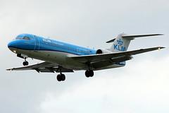 PH-KZB | Fokker 70 (F.28-070) | KLM Cityhopper (cv880m) Tags: london heathrow lhr egll uk gb england aviation airliner airline aircraft airplane jetliner airport phkzb fokker f70 f28 f28070 klm cityhopper ttail netherlands holland dutch