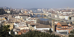 Florence from the Piazzale Michelangelo (dckellyphoto) Tags: italy italia florence firenze 2019 europe travel trip tuscany toscana canon6dmarkii