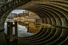 DSC03883 (karstenlützen) Tags: germany berlin museumisland museumsinsel reflections bluehour waterfront