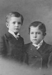 Family Dietrich 006 Harold & Lloyd Dietrich