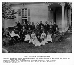 Family Dietrich 003  Harold's parents, John Randolph & Anna seated far rt. middle row.