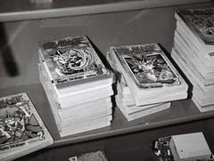 Yu-Gi-Oh! (Matthew Paul Argall) Tags: hanimex110if fixedfocus 110 110film subminiaturefilm lomographyfilm 100isofilm blackandwhite blackandwhitefilm manga comicbooks yugioh