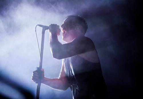 Nine Inch Nails fan photo