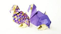 Dodo【origami】 (Kanoko9) Tags: origami dodo animal paper