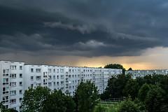 dark clouds / @ 18 mm / 2011-02-07 (astrofreak81) Tags: explore dark clouds sun dunkle wolken sonne sky himmel heaven light abend dresden 20110706 astrofreak81 sylviomüller sylvio müller
