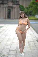 李蕙美 (玩家) Tags: 2019 台灣 台北 水博館 人像 外拍 正妹 模特兒 泳裝 比基尼 李蕙美 戶外 定焦 無後製 無修圖 taiwan taipei portrait glamour model girl female bikini outdoor d610 85mm prime