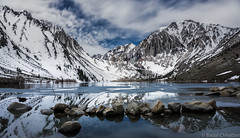 Convict Lake (BadalChhatbar) Tags: sonya6000 sony1650mm convict lake mammothslake mountains snow water landscape california sky blue spring winter