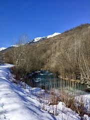 Another blue sky day (kcorrick) Tags: france tarentaise winter blue alps mountains trees snow isere lisere