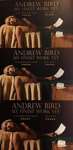 Andrew Bird fan photo