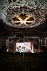 Majestic Theater Portrait Color Fix (michaelbrnd) Tags: abandoned theater st louis urbex urban exploration