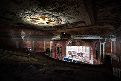Majestic Theater Color Fix (michaelbrnd) Tags: abandoned theater st louis urbex urban exploration